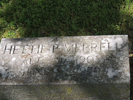 Hettie P Merrell