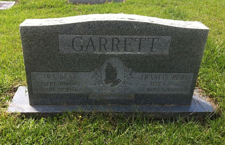 Ira Bunk Garrett