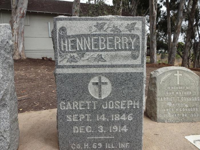 Pvt Garett Joseph Henneberry