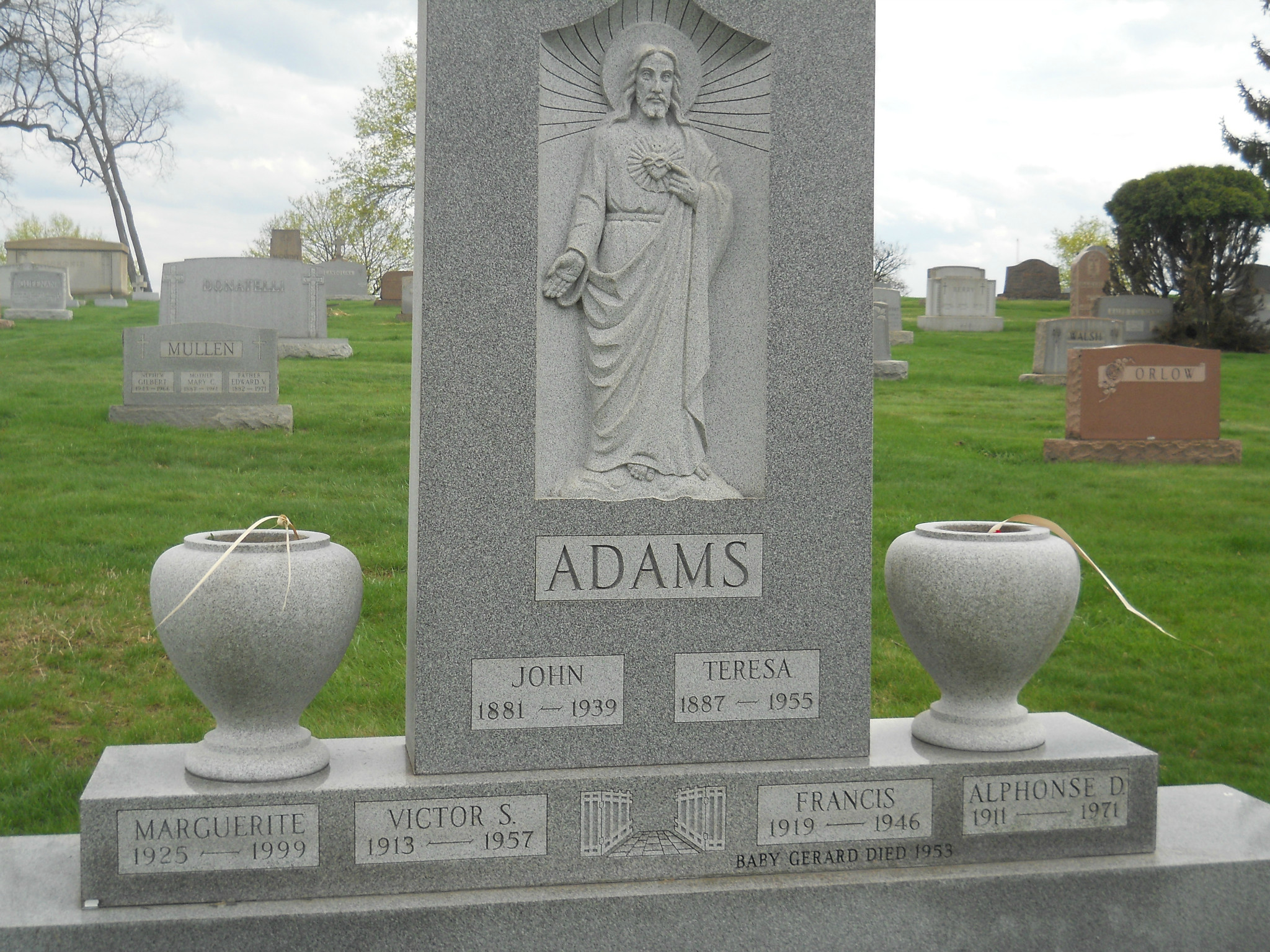 Alphonse D Adams