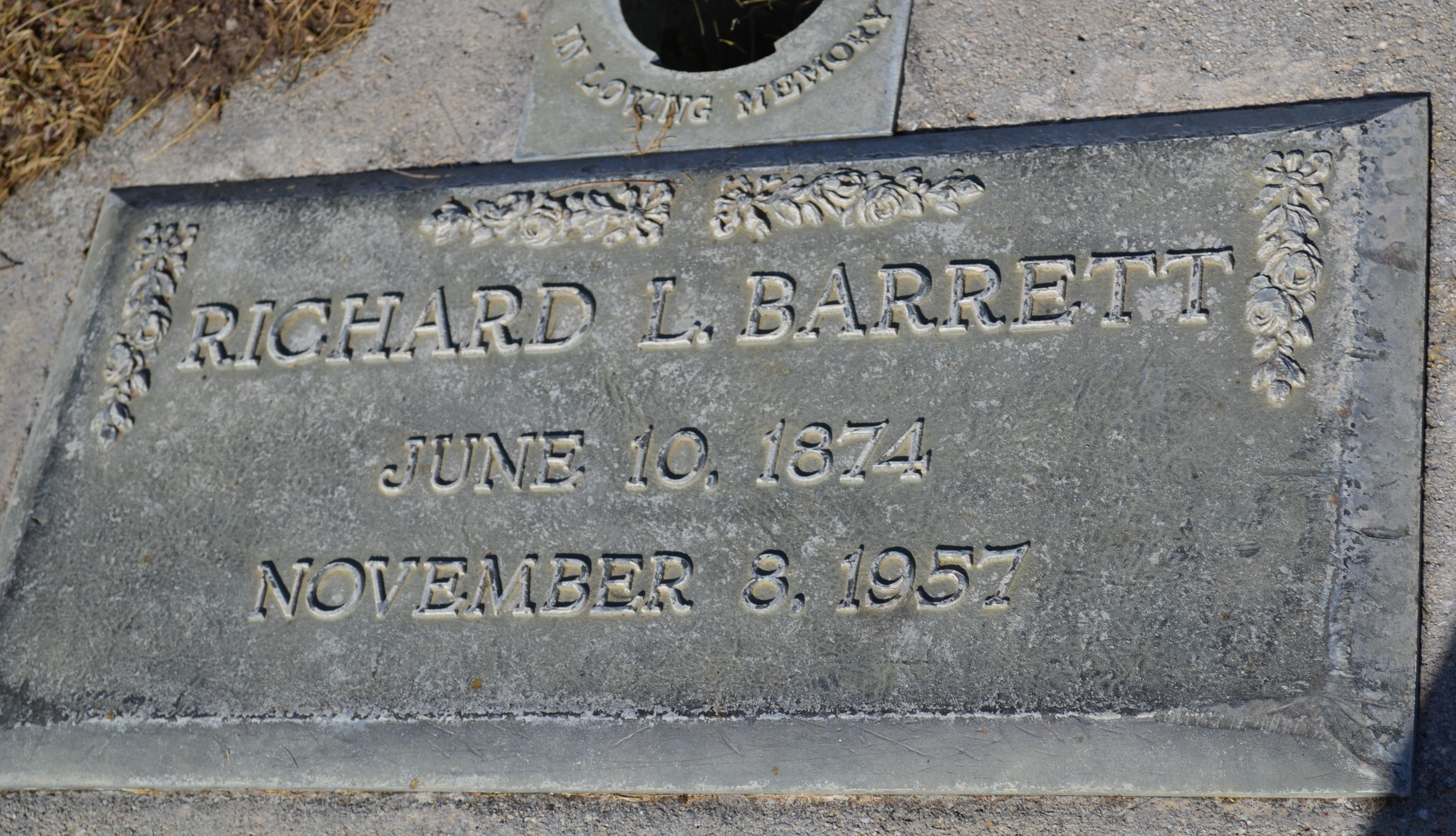 Richard L Barrett