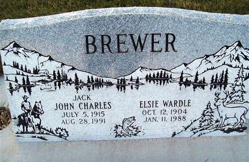 Elsie Olive <i>Wardle</i> Brewer