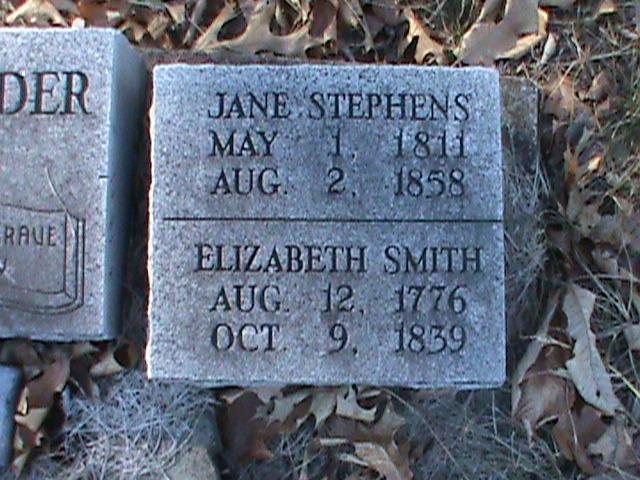 Jane <i>Stephens</i> Alexander