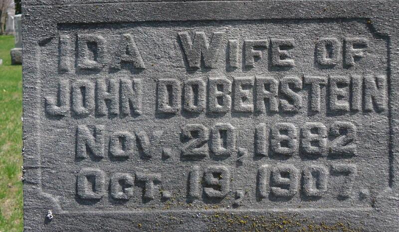 Mrs Ida <i>Kopischke</i> Doberstein
