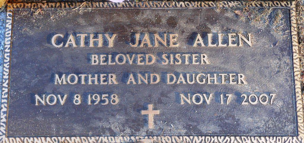 Cathy Jane <i>Harrison</i> Allen