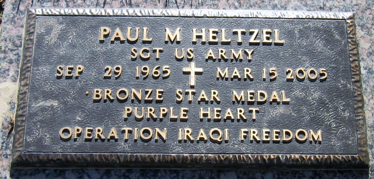 Sgt Paul Martin Heltzel