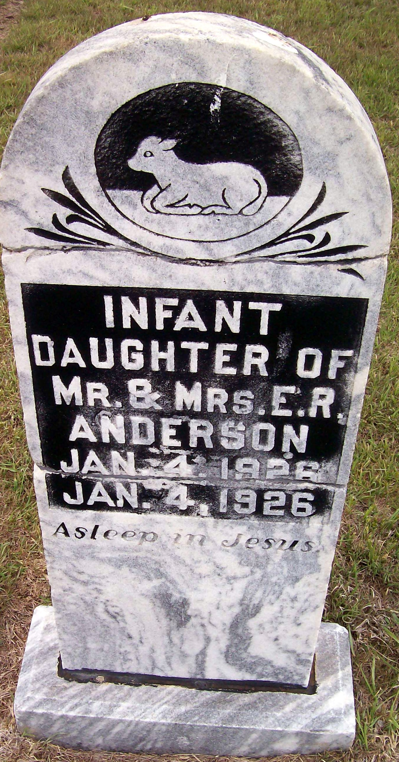 Infant Anderson