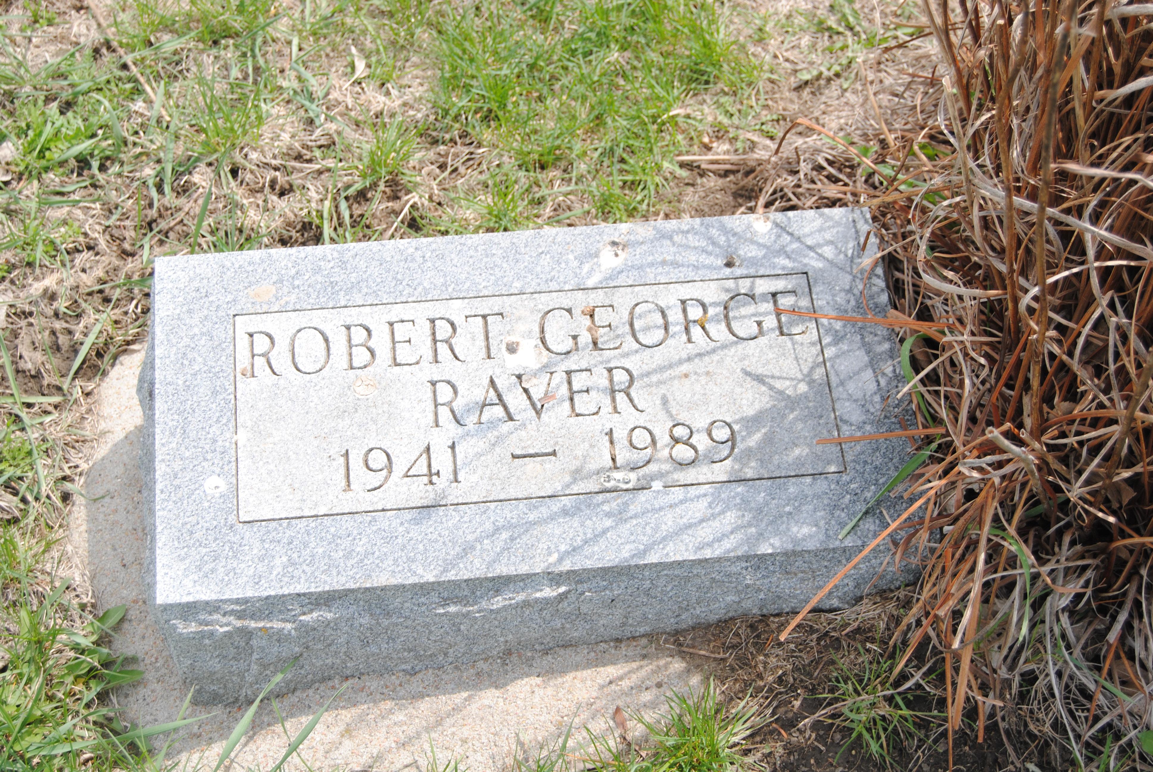 Robert George Bob Raver