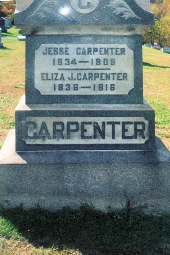 Eliza Jane <i>Overturf</i> Carpenter