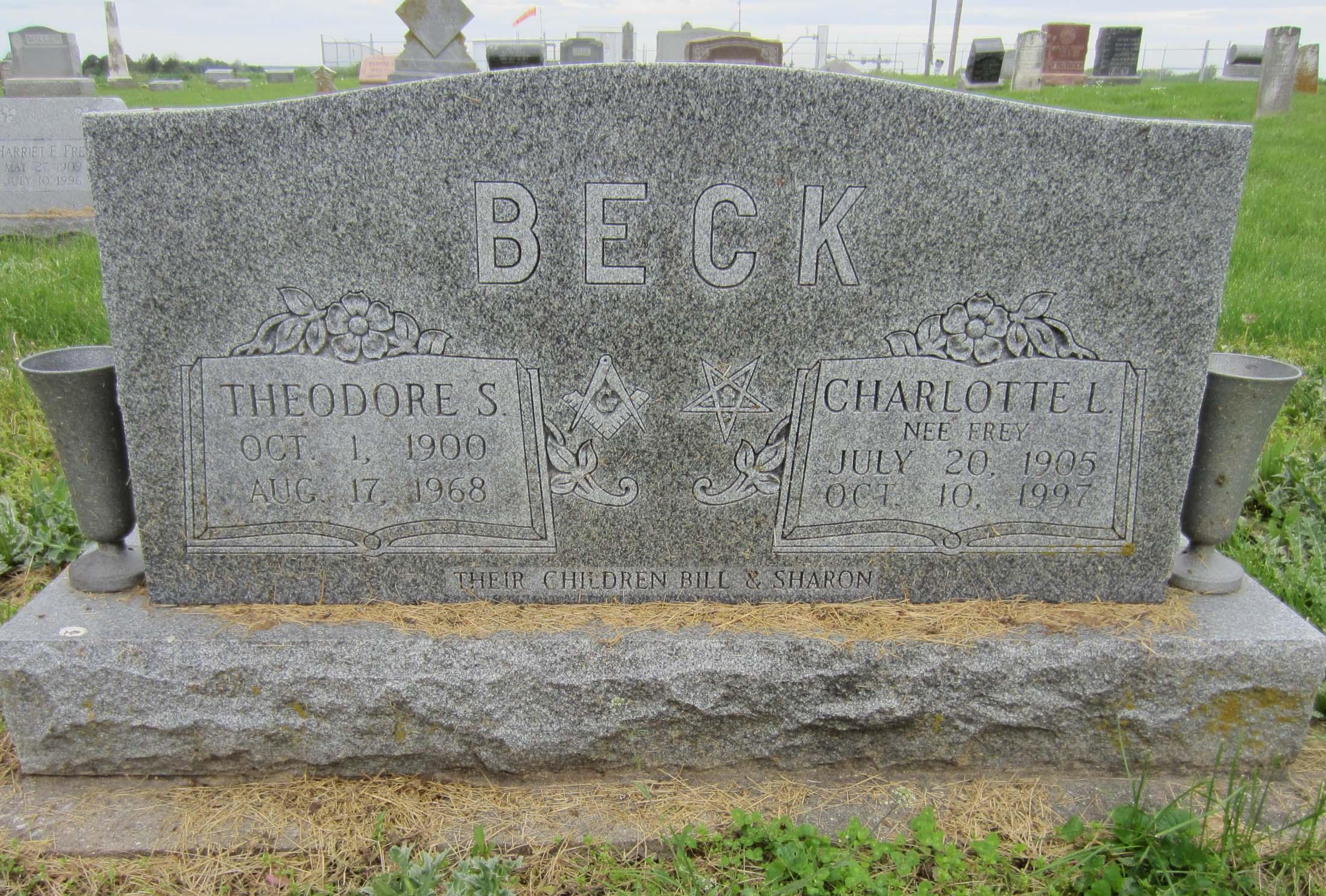 Charlotte L. <i>Frey</i> Beck