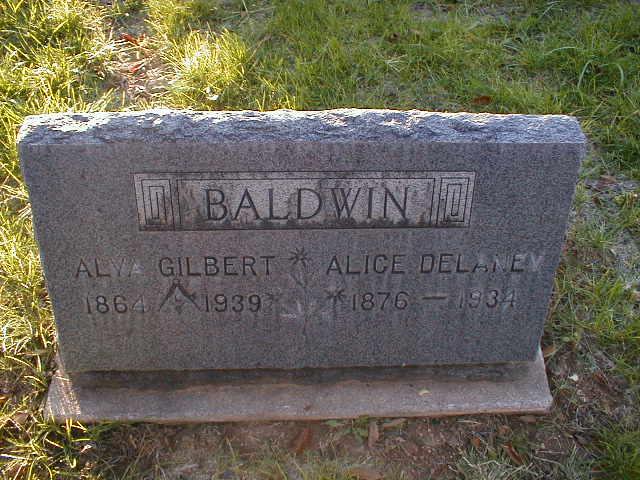 Alice Delaney Baldwin