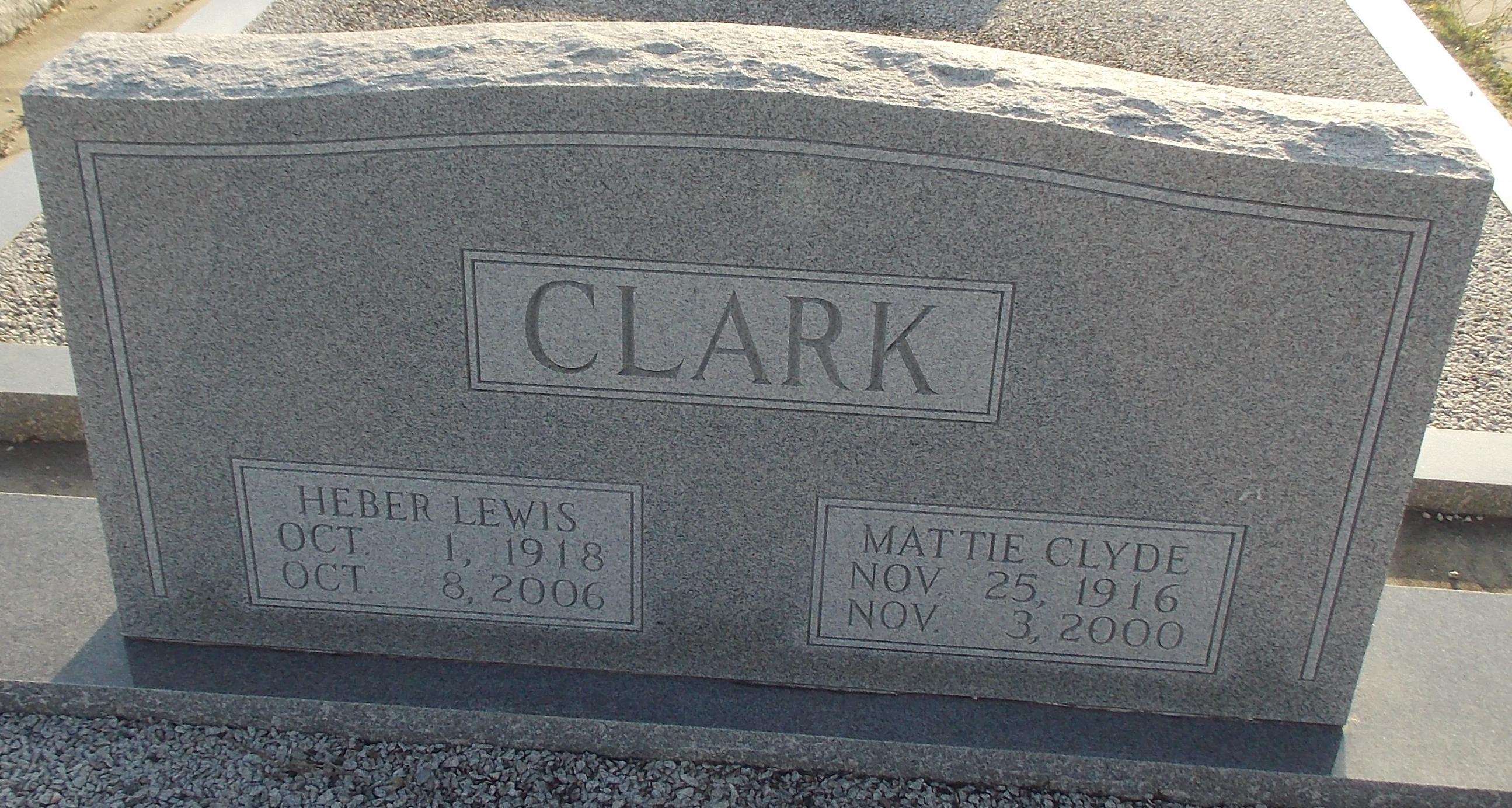 Rev Heber Lewis Clark