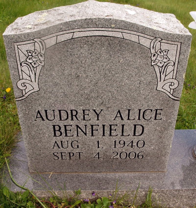 Audrey Alice Benfield