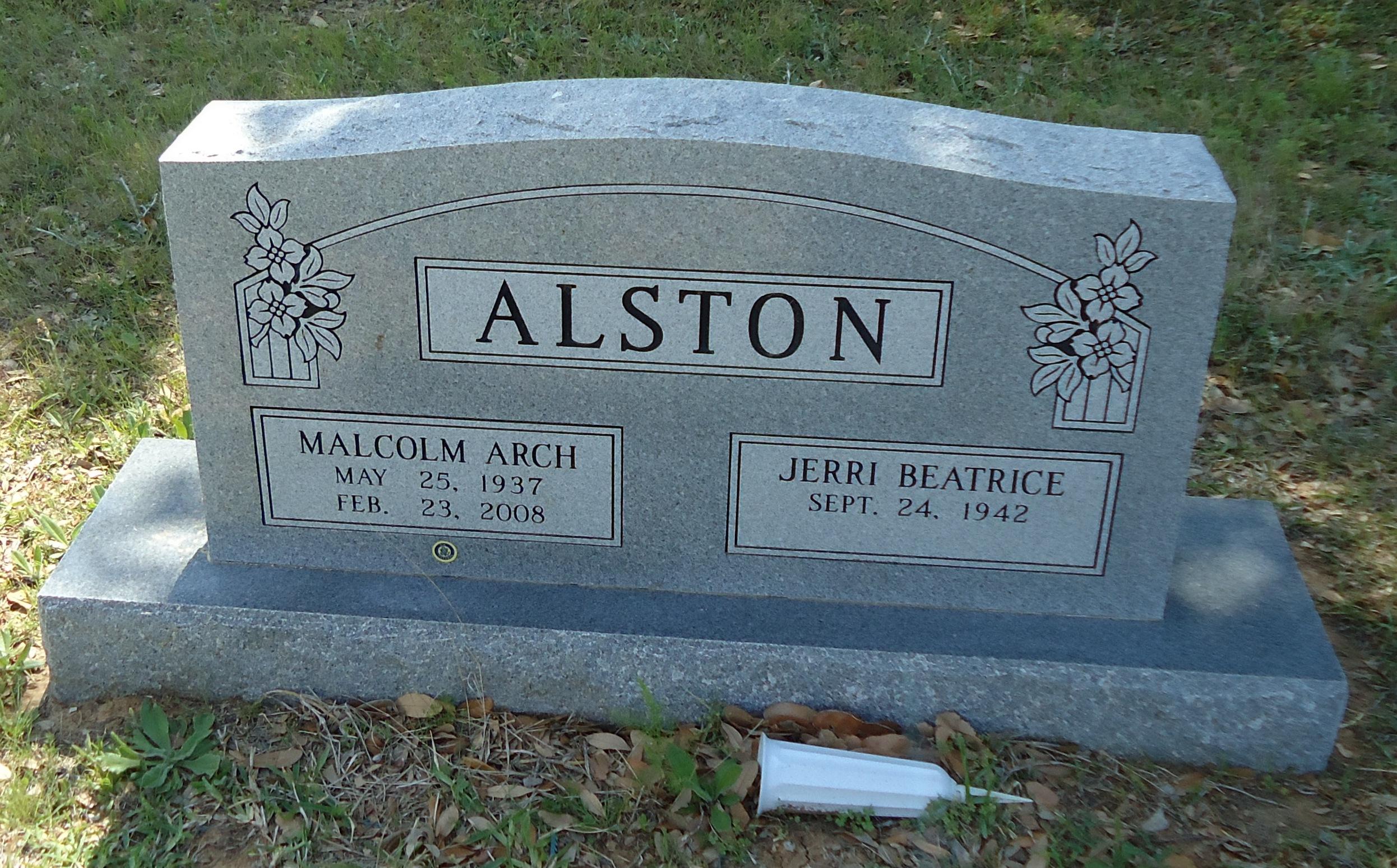 Malcolm Arch Alston