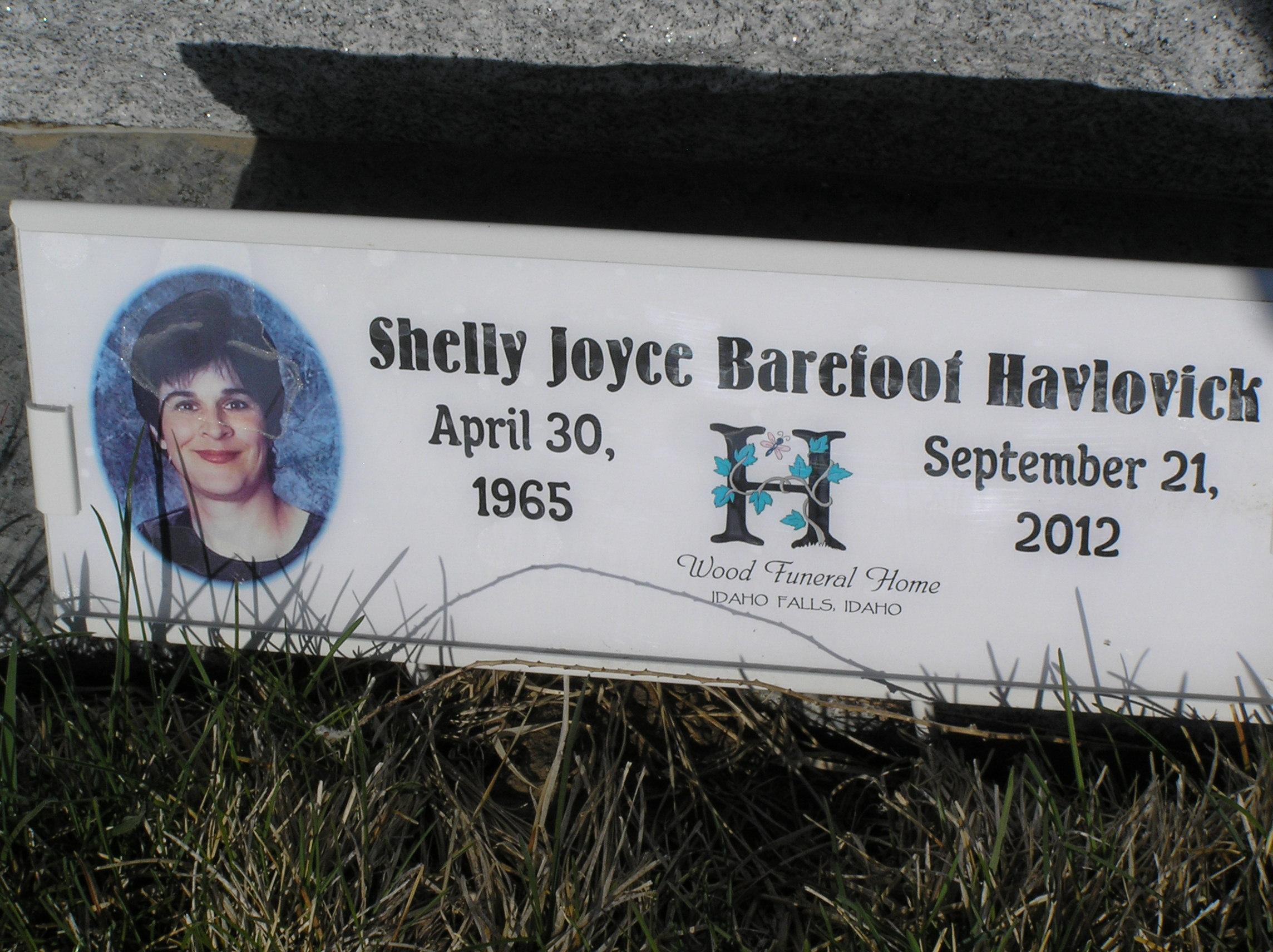 Shelly Joyce Barefoot Havlovick (1965-2012) - Find A Grave Memorial