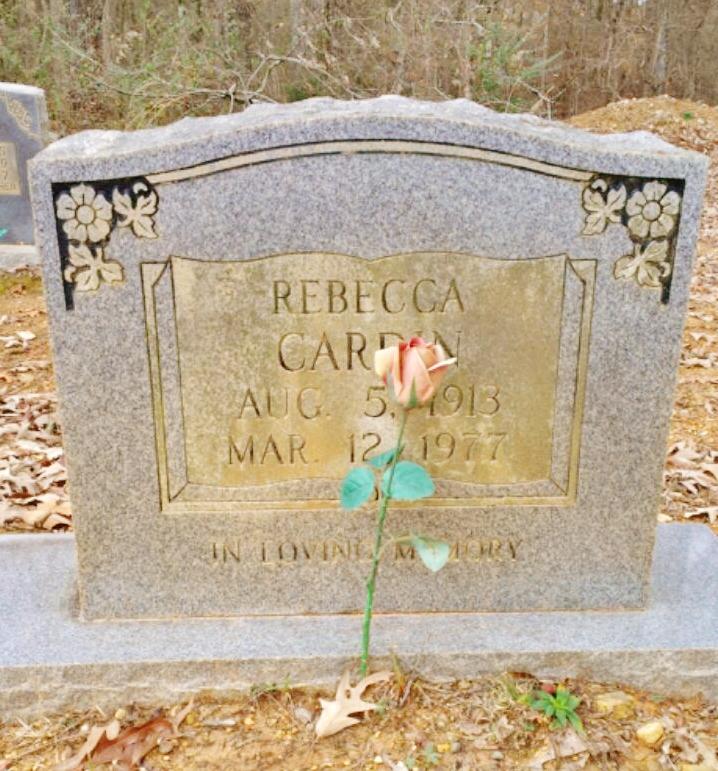 Rebecca <i>Coffey</i> Cardin