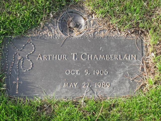 Arthur T Chamberlain
