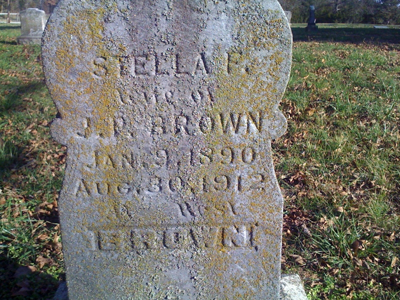 Stella F. <i>Collins</i> Brown