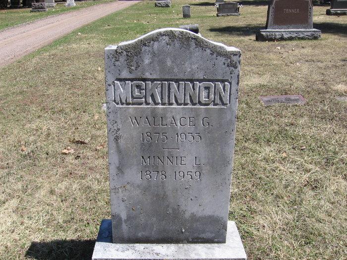Wallace G McKinnon