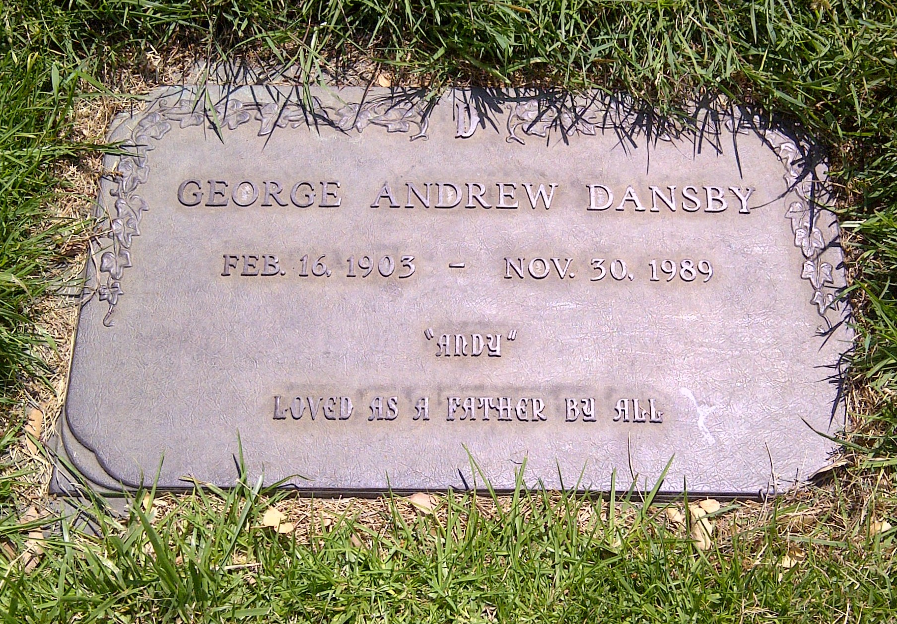 George Andrew Dansby