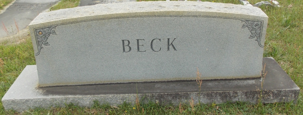 Lessie <i>Moxley</i> Beck