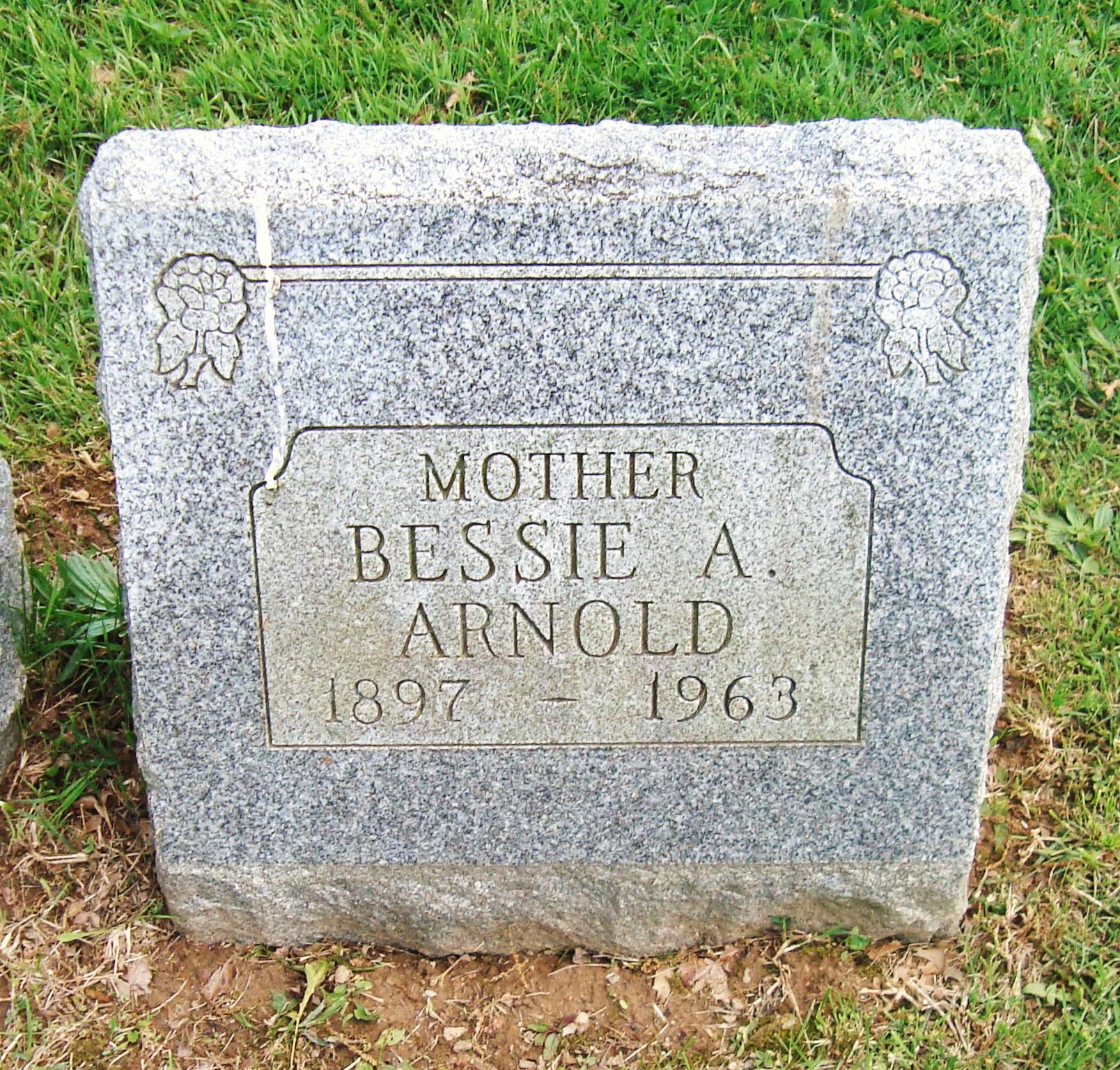 Bessie Alverta <i>Schaffer</i> Arnold