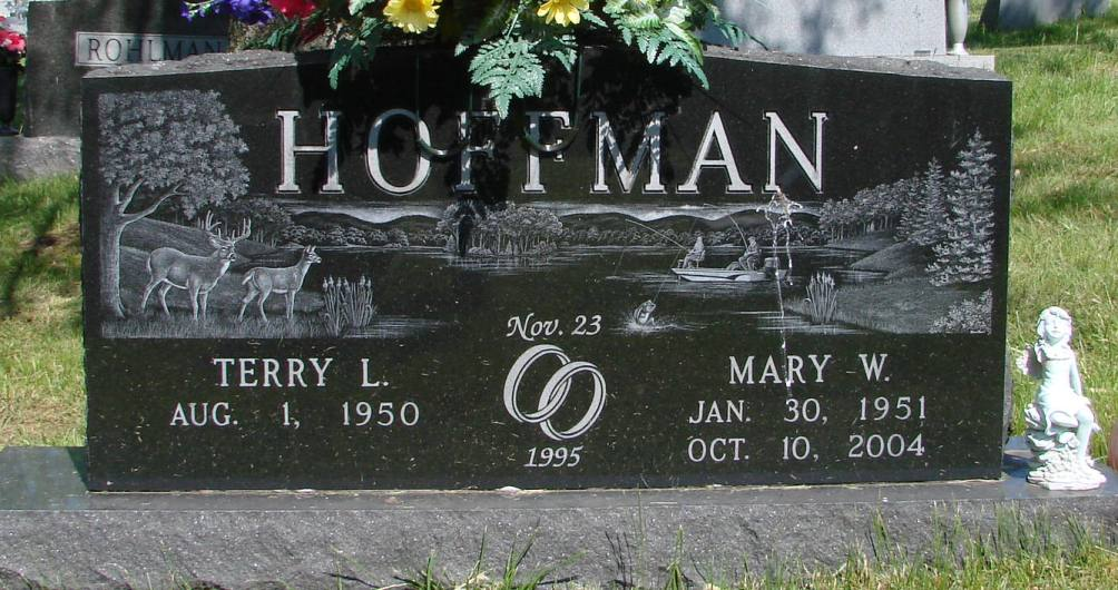 Mary W <i>Williams</i> Hoffman