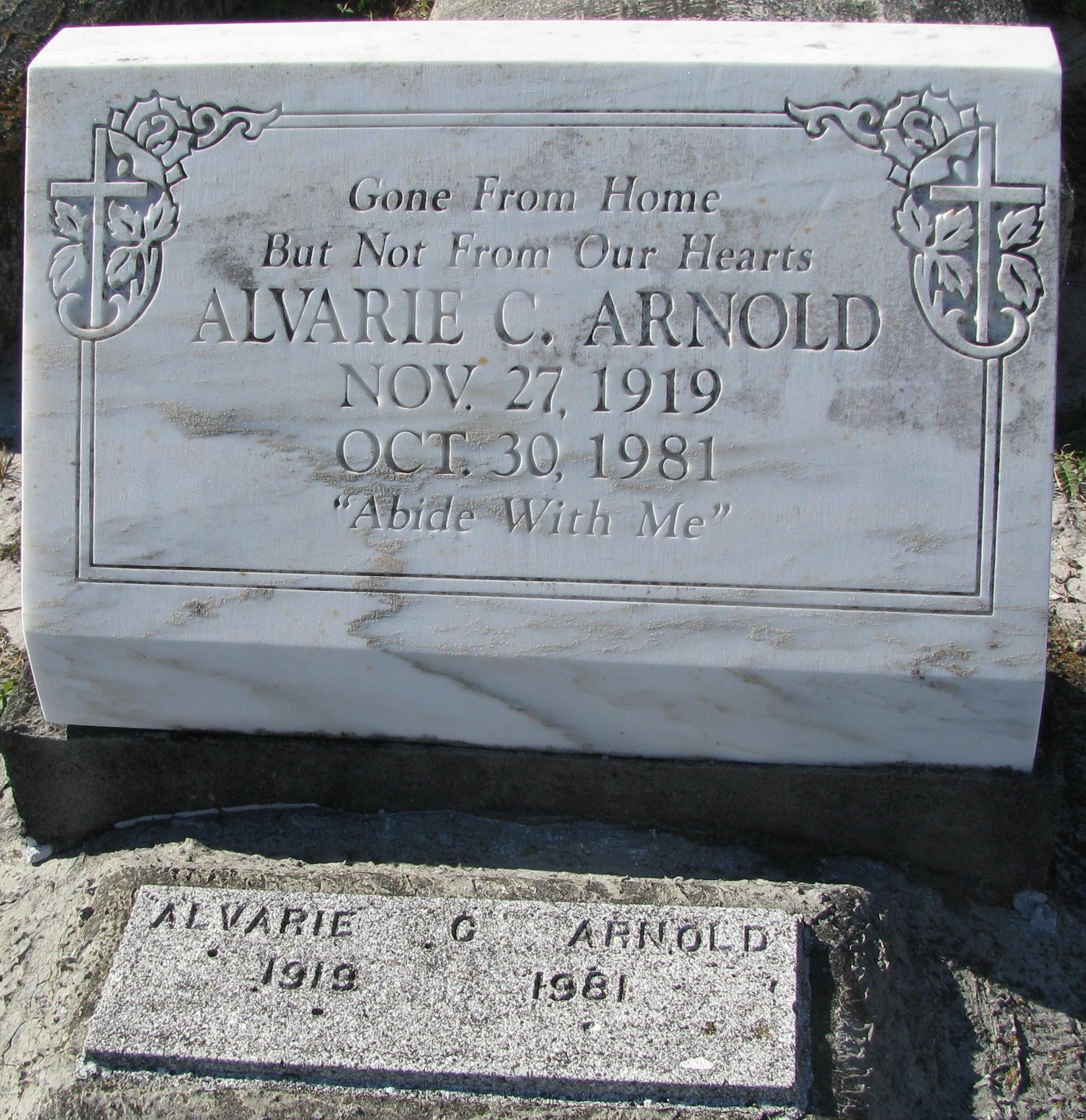 Alvarie C Arnold