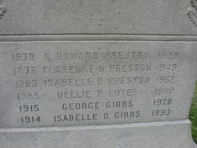 Nellie Evelyn <i>Preston</i> Lutes