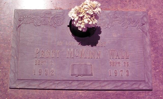 Peggy Marie <i>McMinn</i> Wall