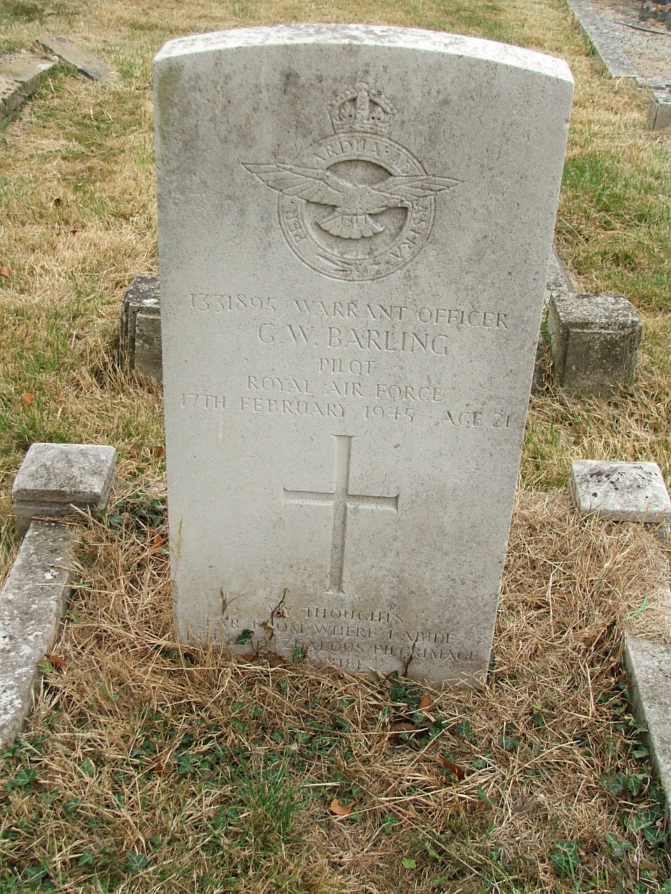 WO Grahame William Barling