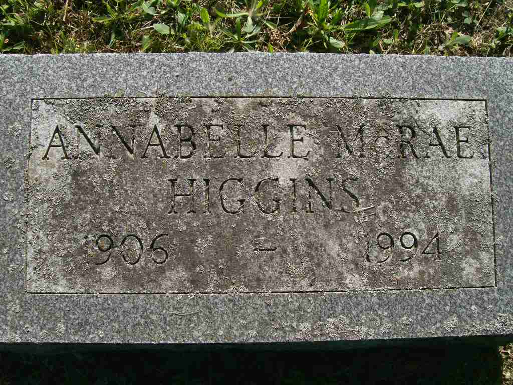 Who is annabelle higgins-1131