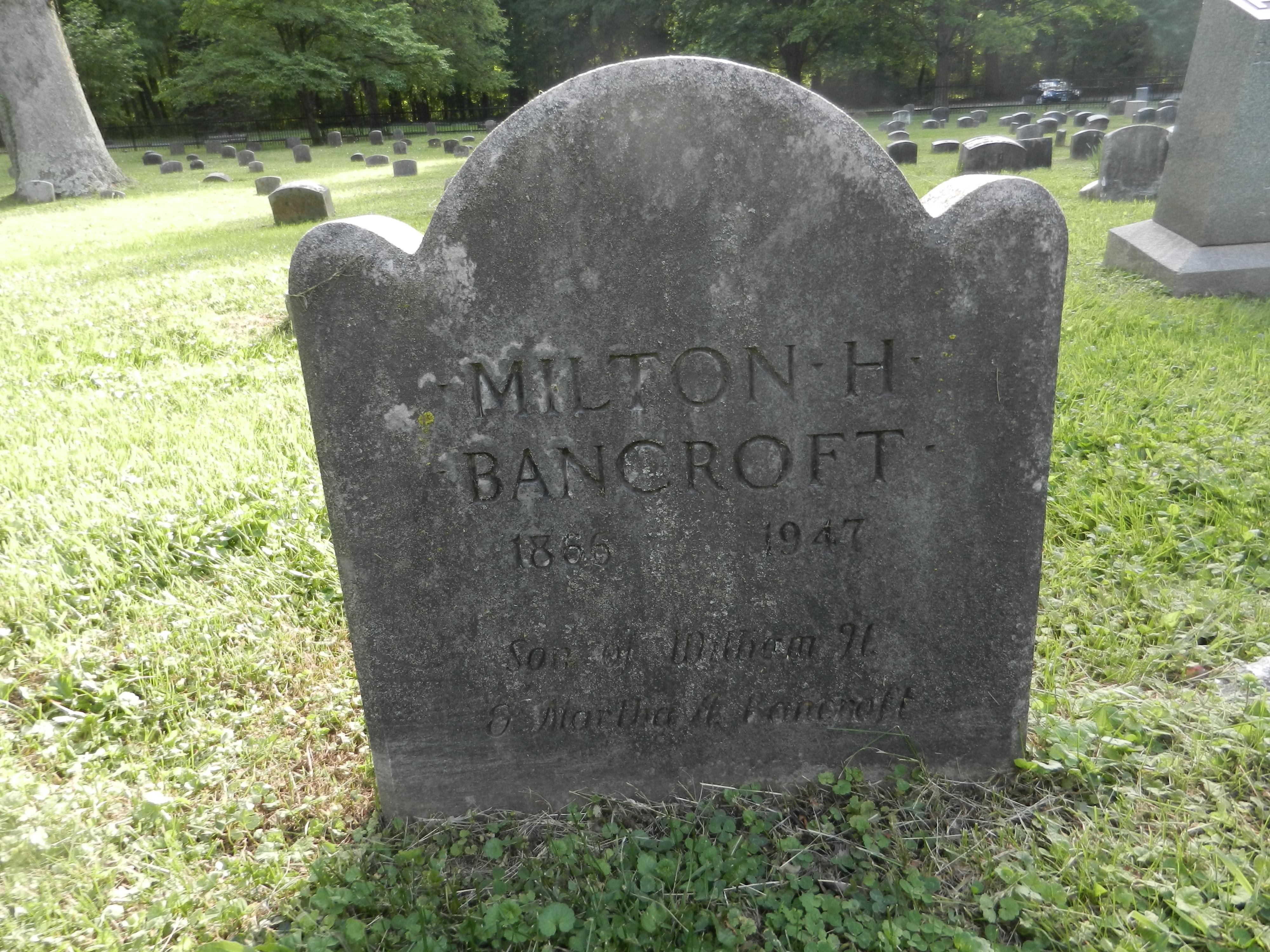 Milton H Bancroft