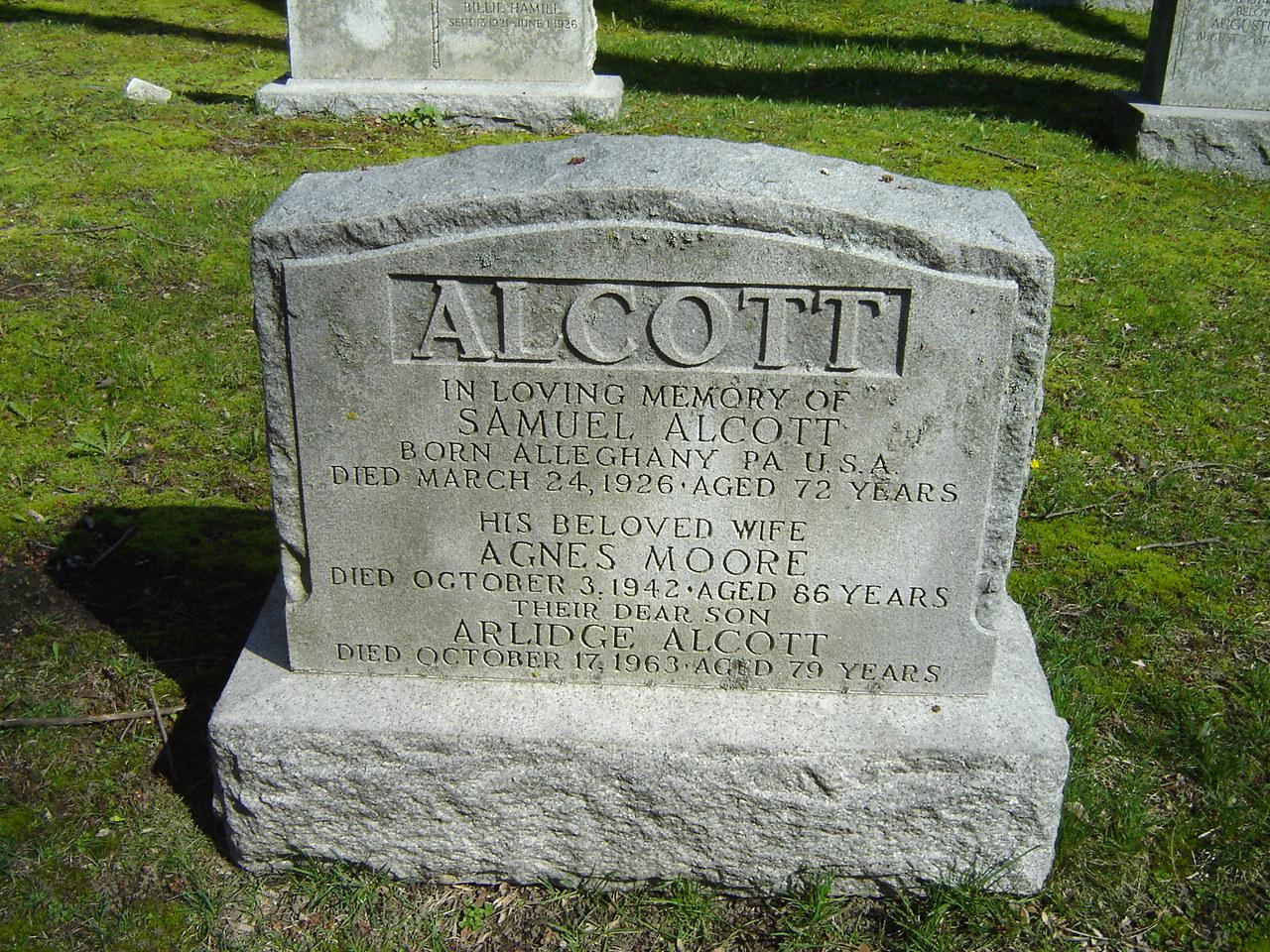 Sgt Samuel Alcott