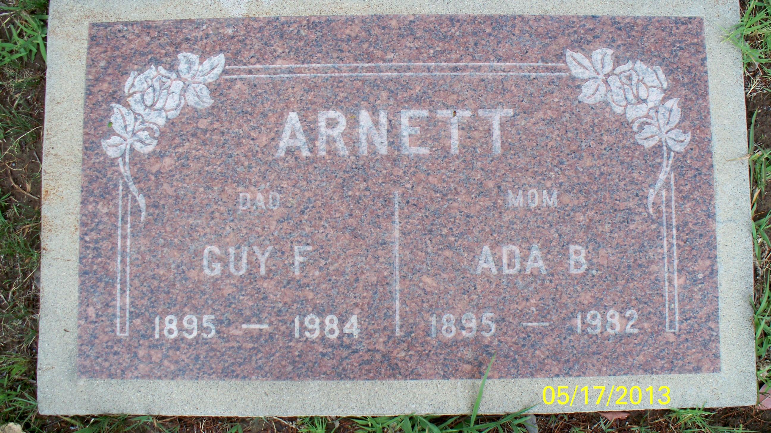 Guy F Arnett