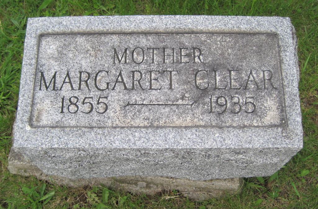 Margaret Jane <i>Fleming</i> Clear
