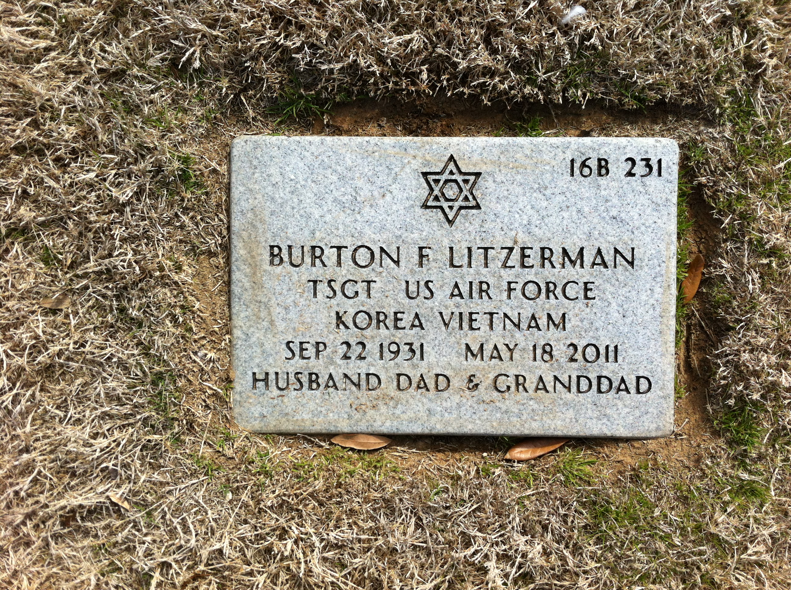 871593503e Burton Frederick Litzerman (1931-2011) - Find A Grave Memorial