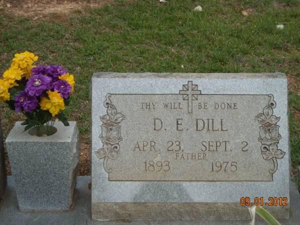 Daniel Emmitt Dill, Sr