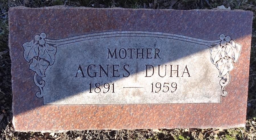Mrs Agnes Magnheld <i>Clarin</i> Duha
