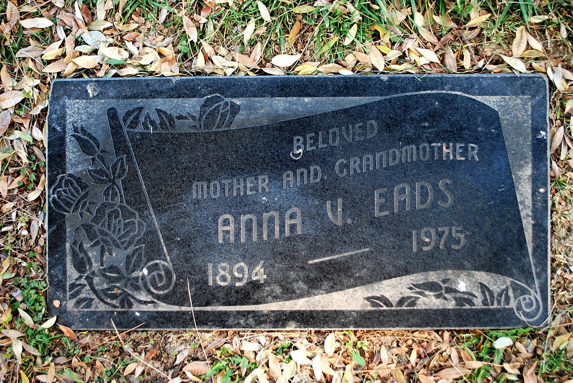 Anna Viola <i>Dougherty</i> Eads
