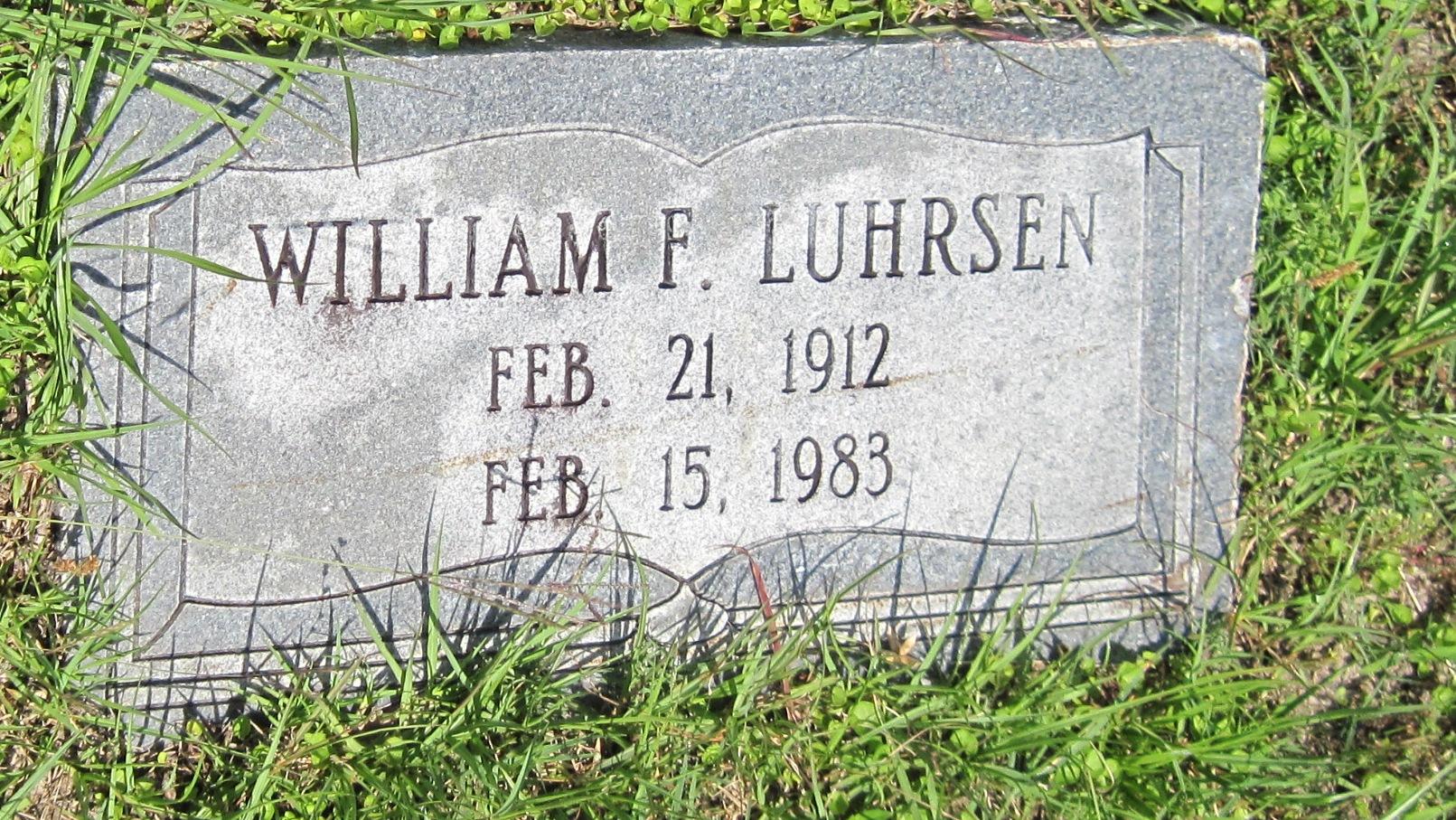 William Ferdinand Luhrsen, Jr