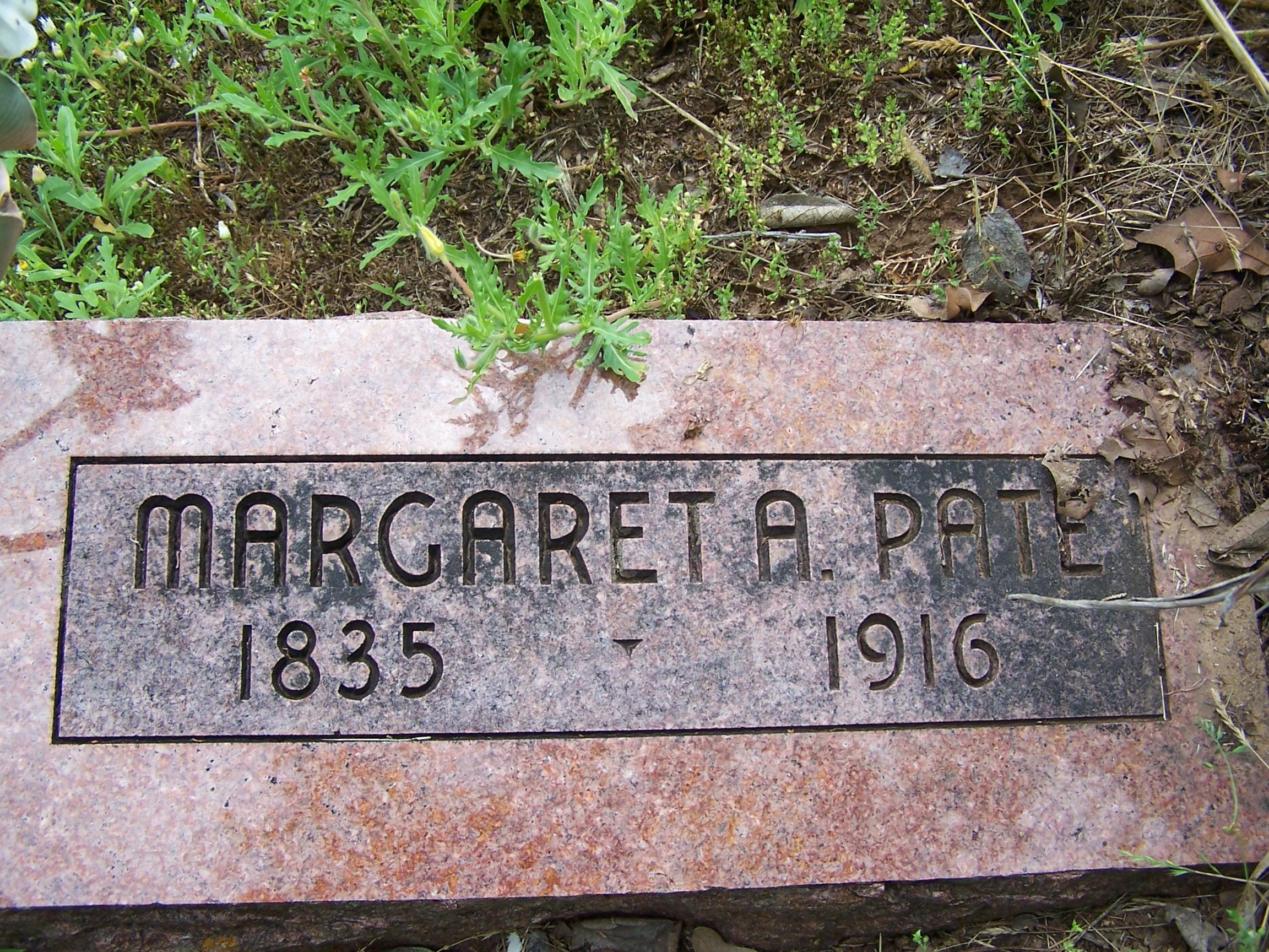 Margaret <i>Alvis</i> Pate