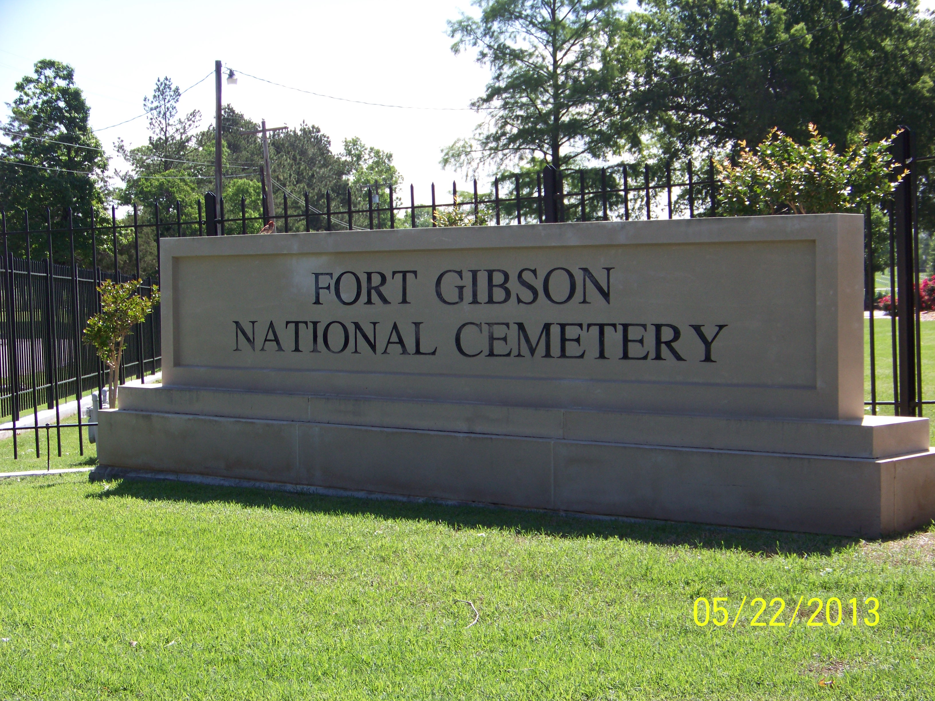 Fort Gibson National Cemetery