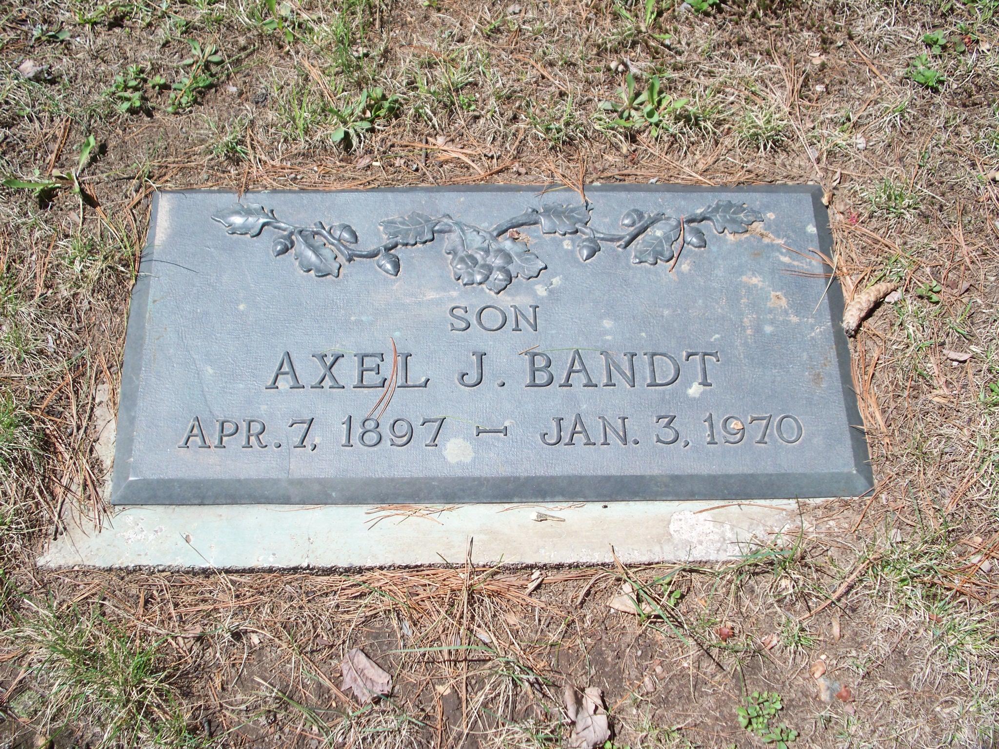 Axel J. Bandt