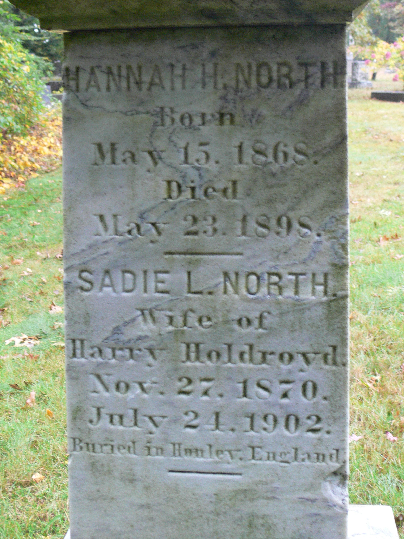 Sadie L <i>North</i> Holdroyd