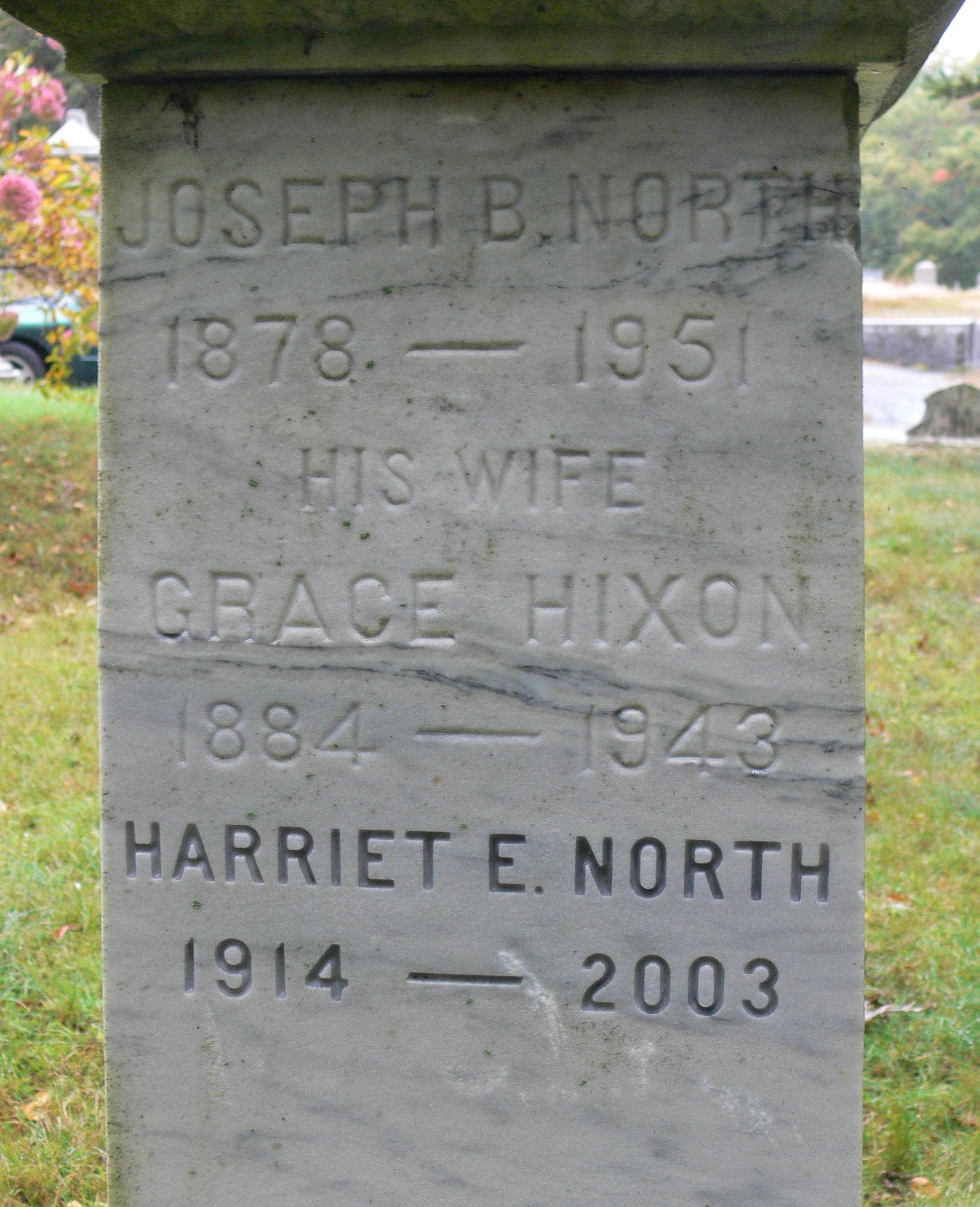 Grace <i>Hixon</i> North