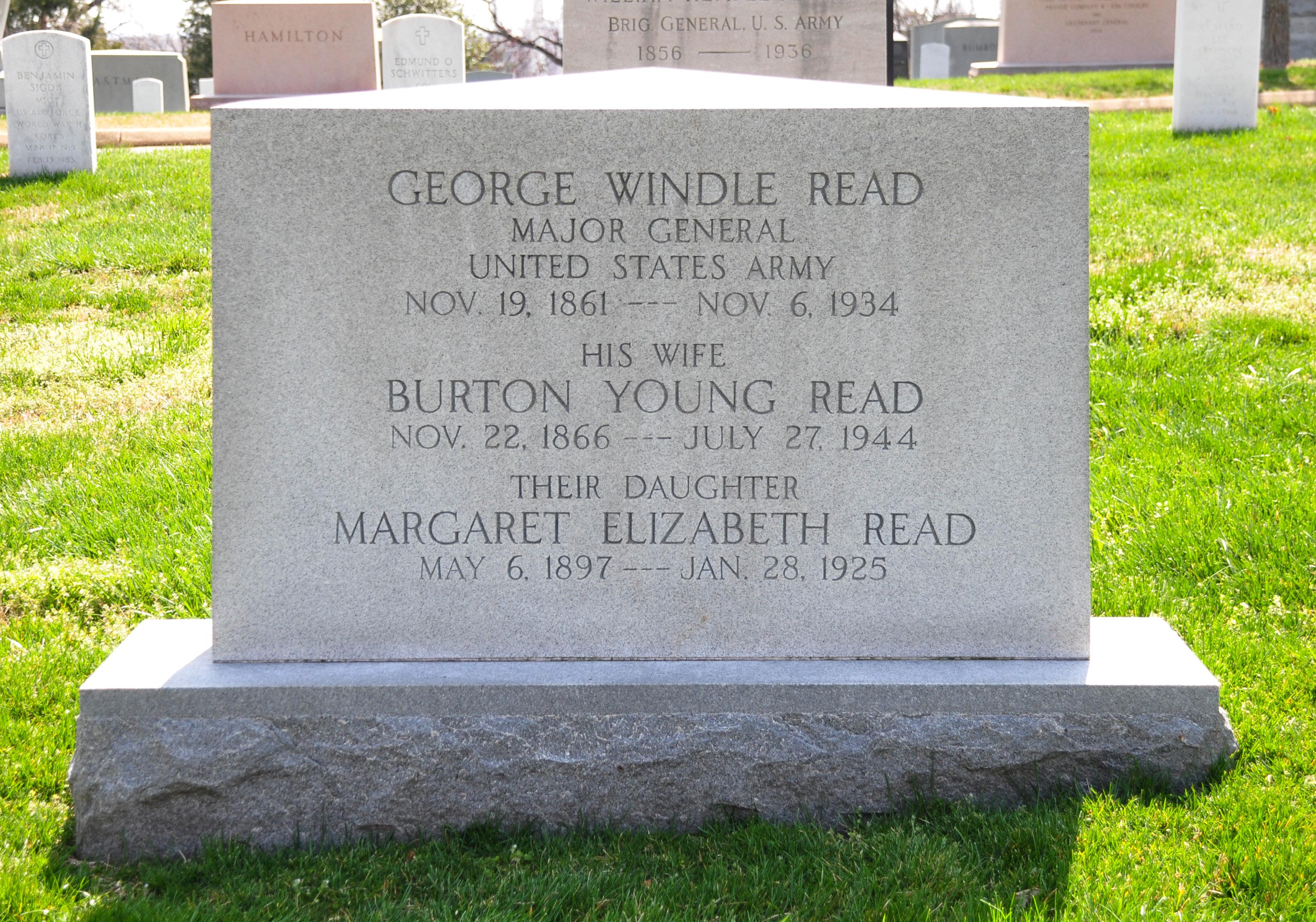 MG George Windle Read