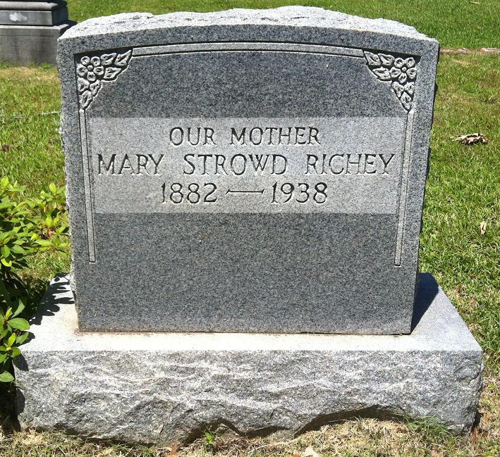 Mary <i>Strowd</i> Richey