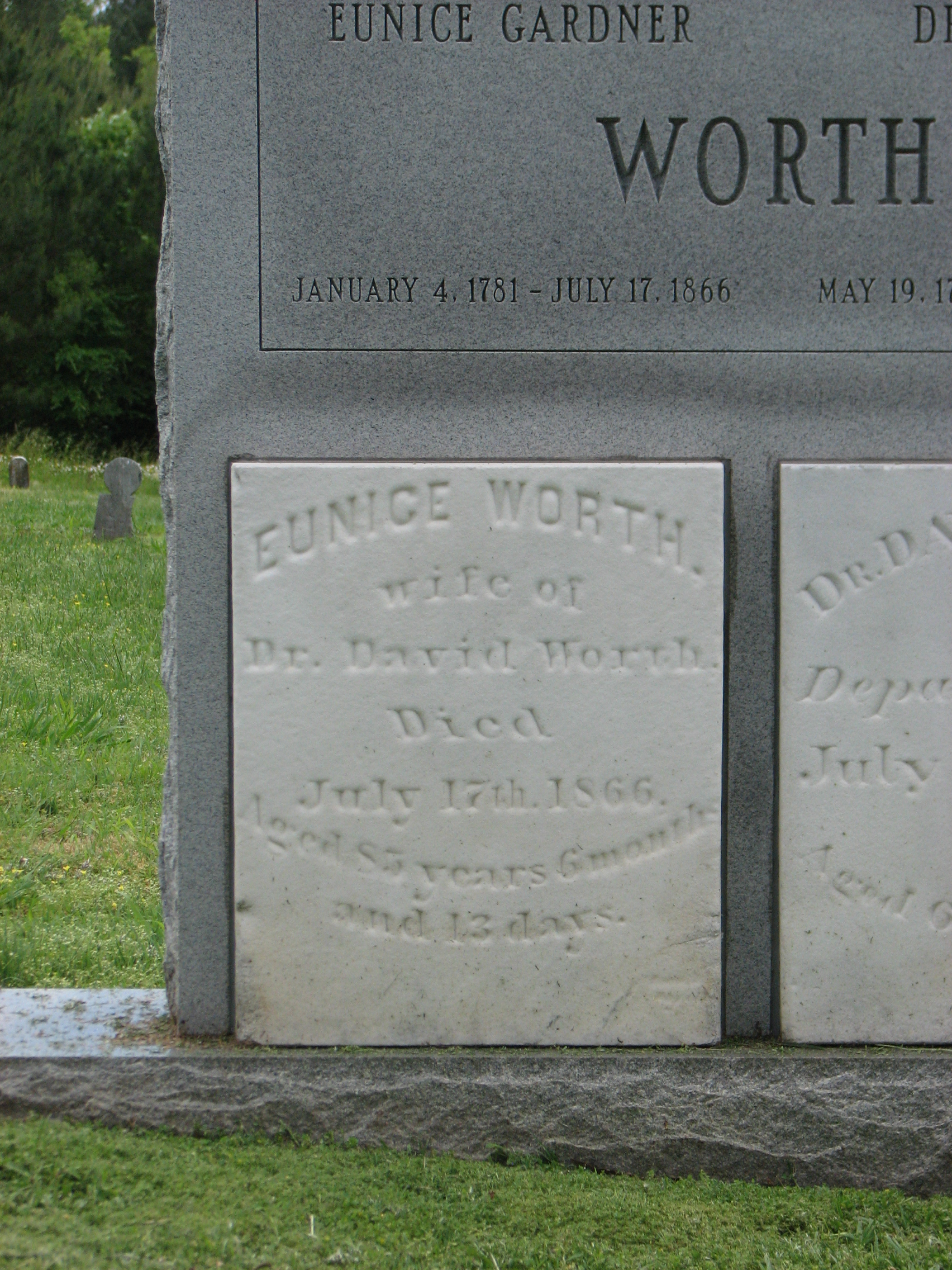 Eunice <i>Gardner</i> Worth