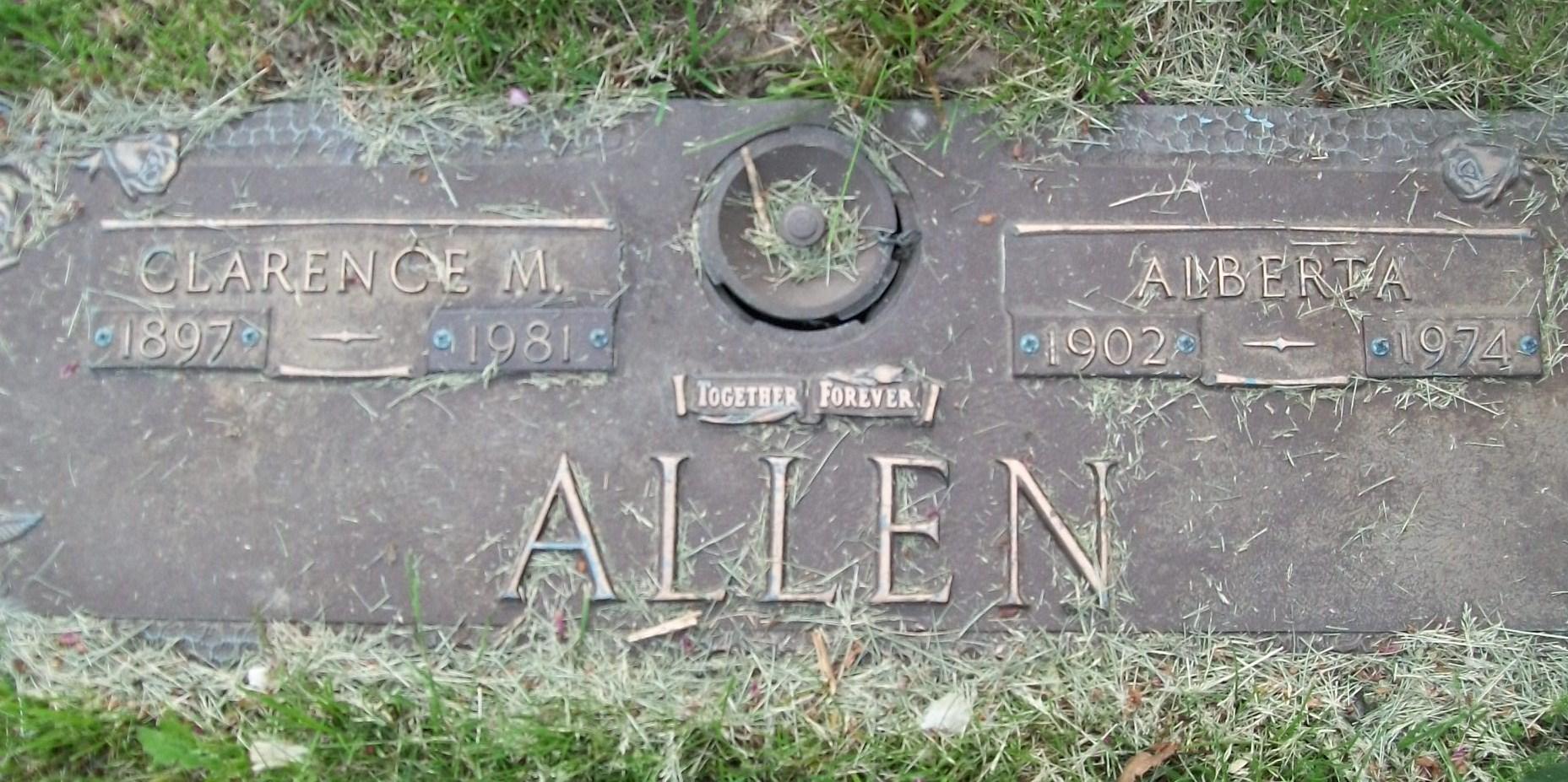 Alberta <i>Manley</i> Allen